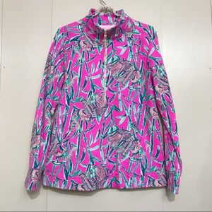 Lily Pulitzer elephant pullover sweater